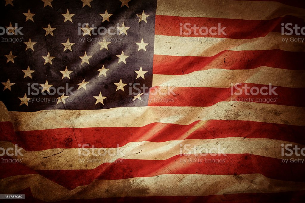 Royalty Free Vintage American Flag Pictures, Images and ...