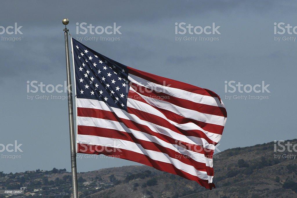 Amerikanische Flagge Lizenzfreies stock-foto