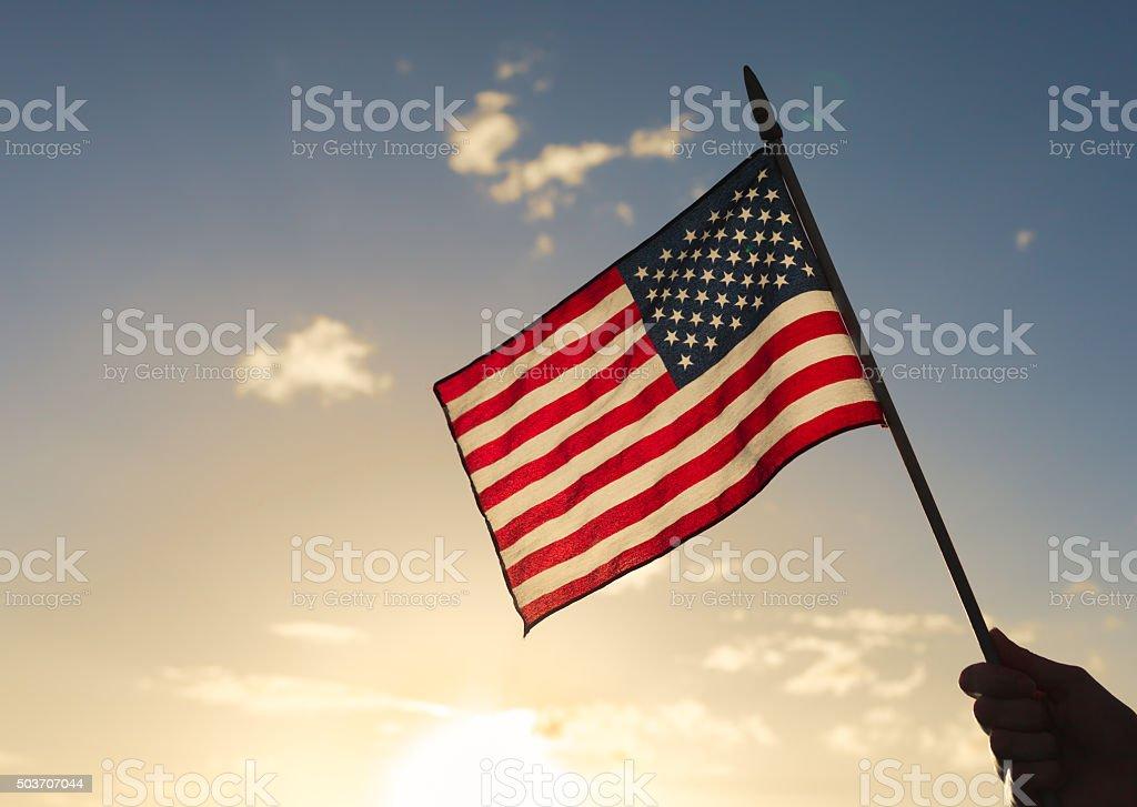 Drapeau américain - Photo