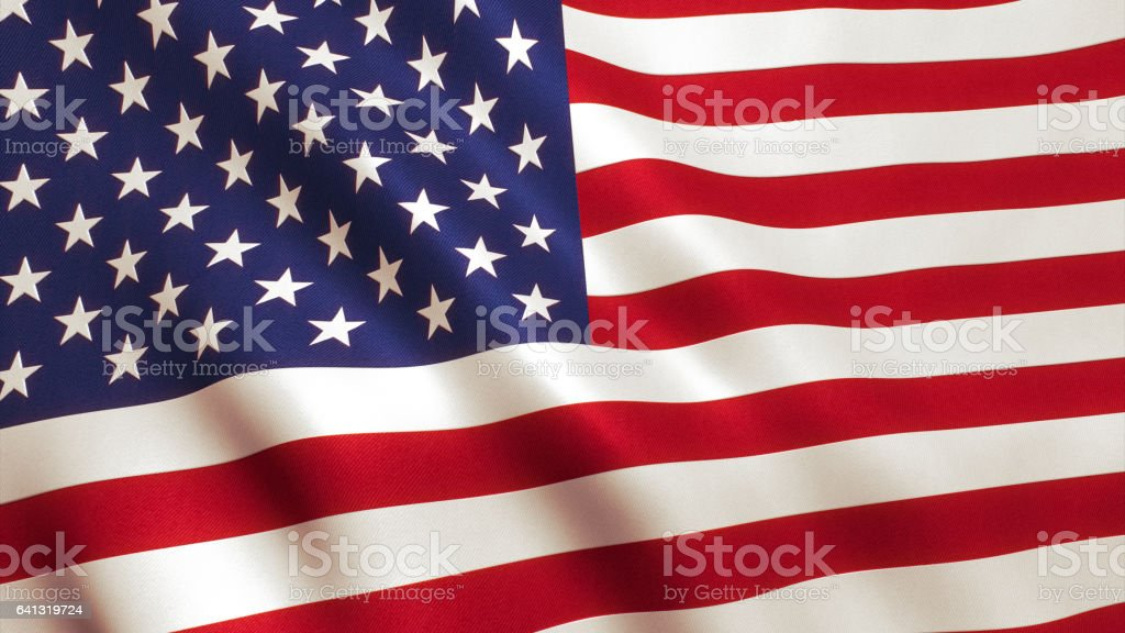 USA American Flag stock photo