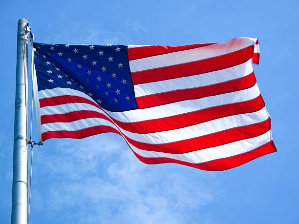 American Flag stok fotoğrafı