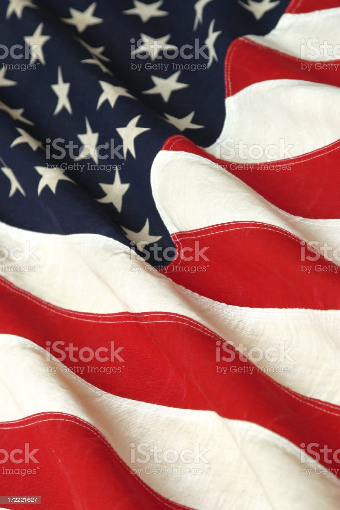 American Flag Series royalty-free stock photo