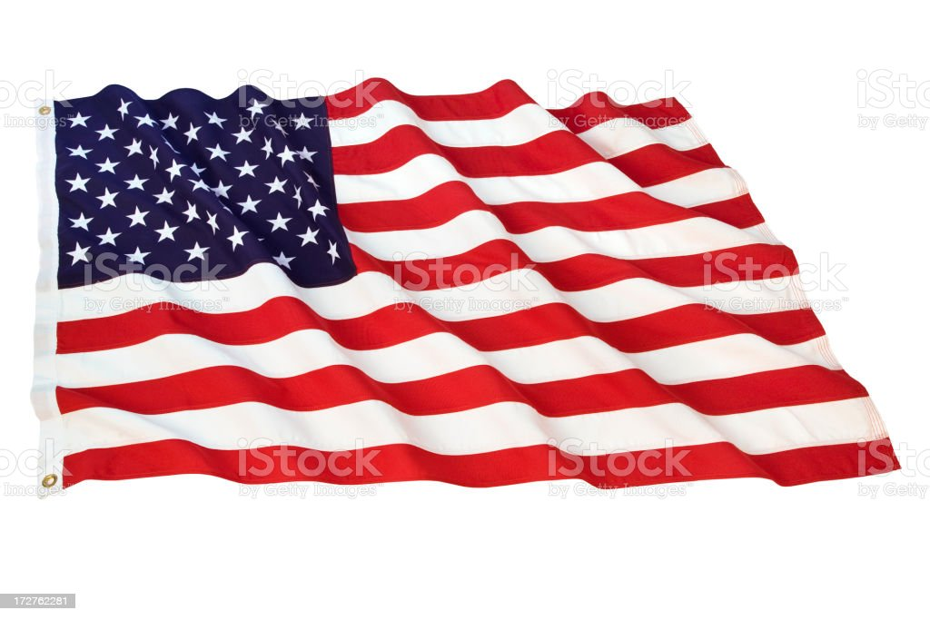 American Flag Series (XL) royalty-free stock photo