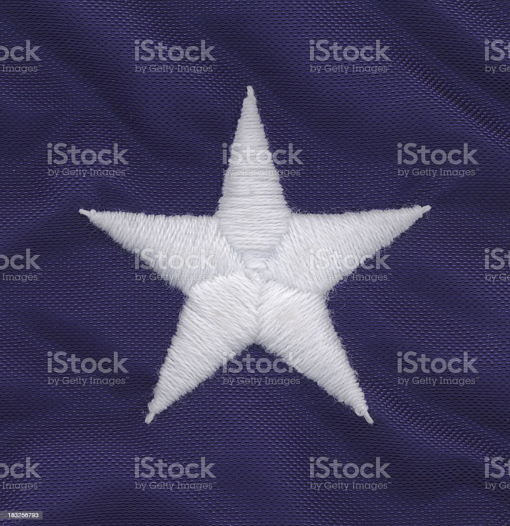 American flag - star royalty-free stock photo