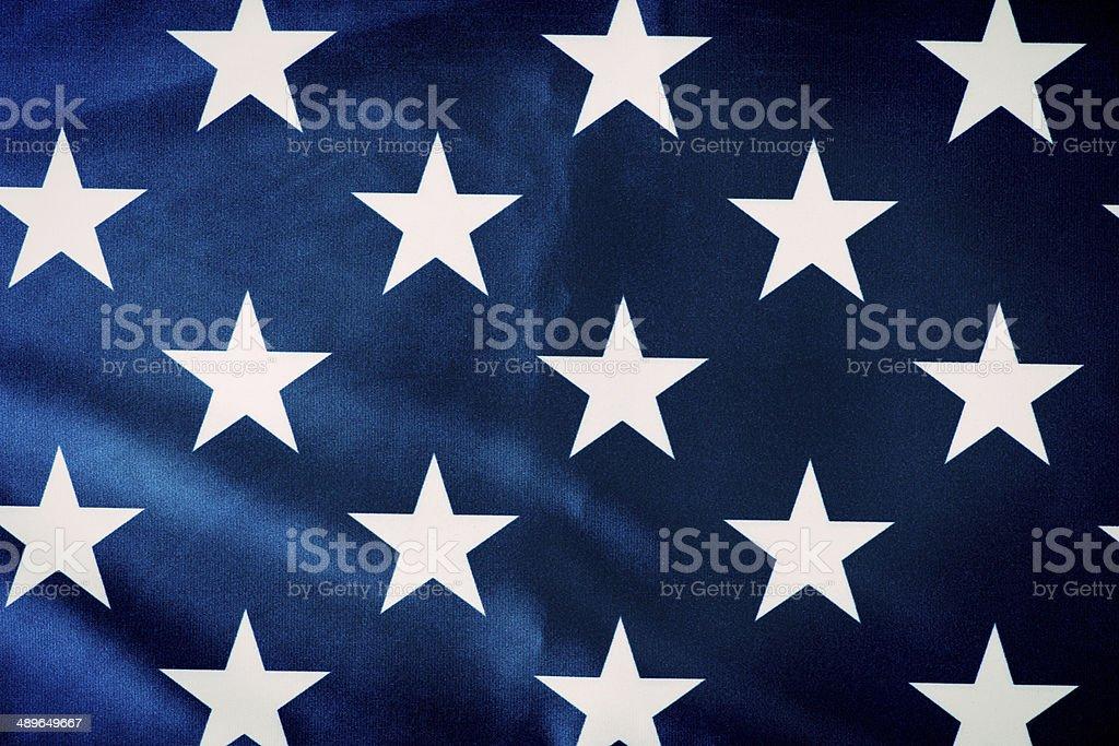 American flag - Stars royalty-free stock photo