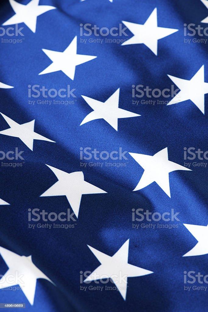 American flag - Stars stock photo
