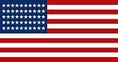 American Flag symbol of USA