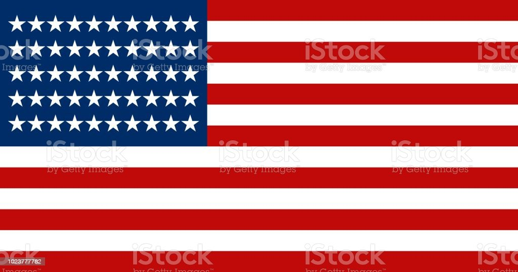 American Flag symbol of USA stock photo