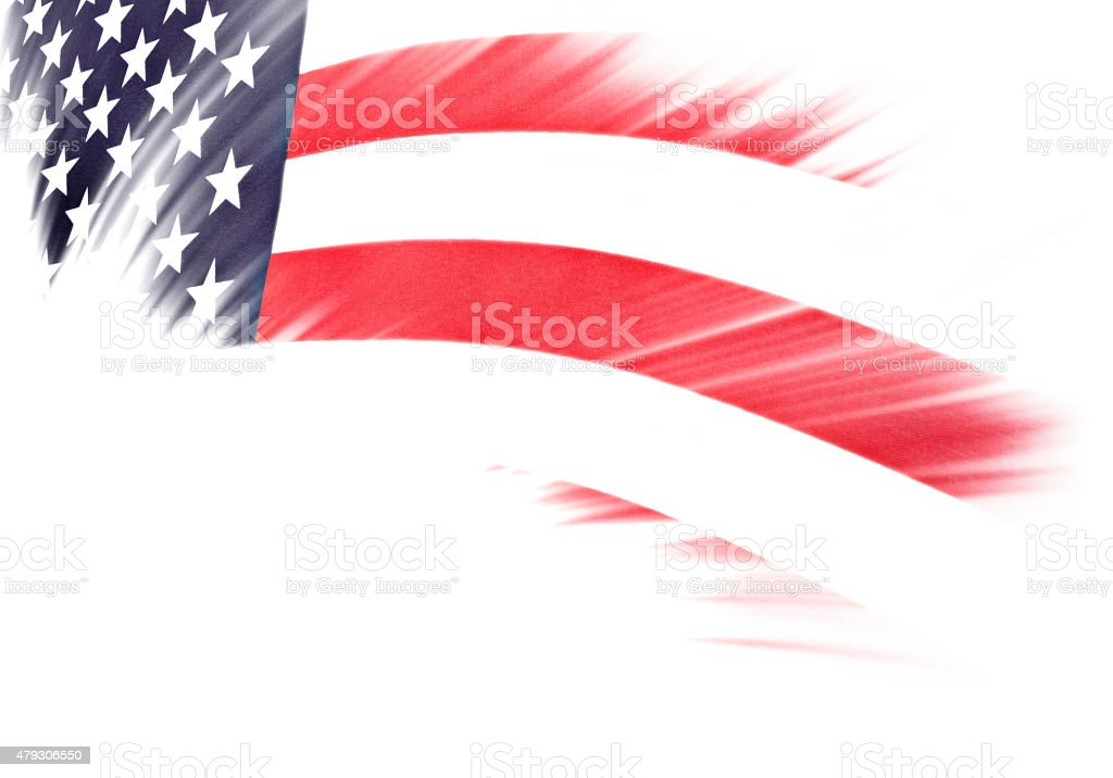 American Flag – United States Of America stock photo