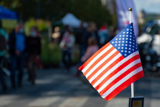 американский флаг, сша - biden стоковые фото и изображения