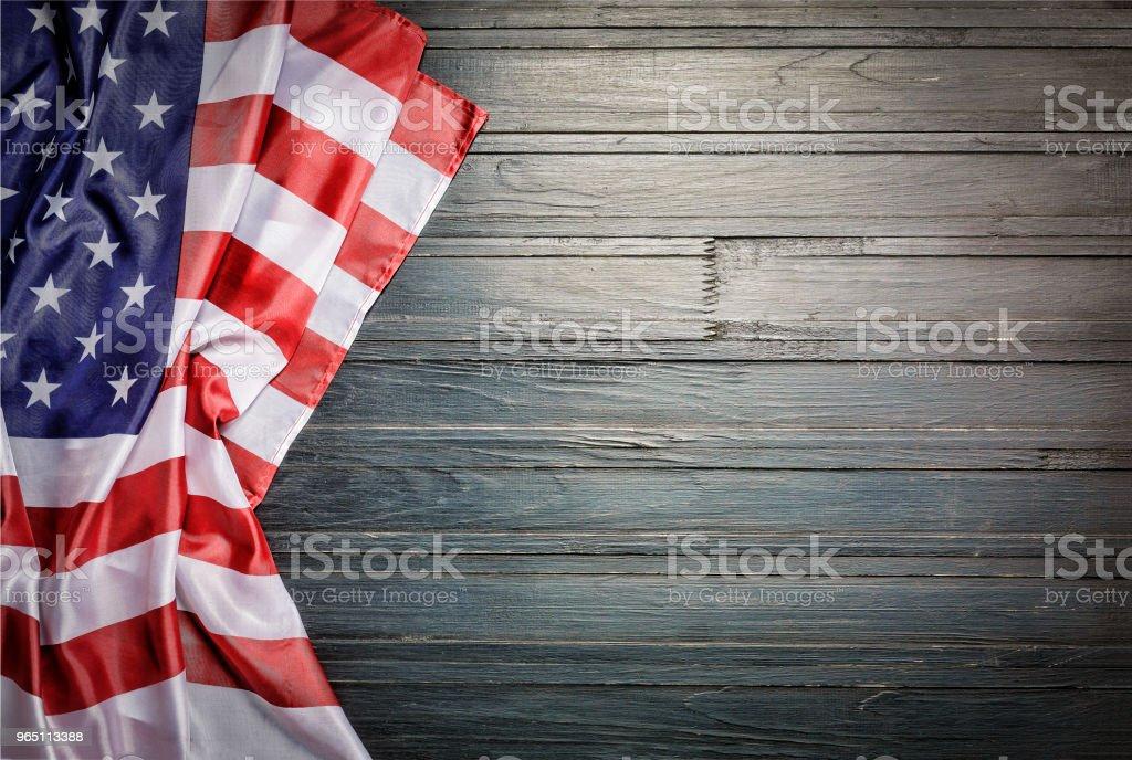 American flag, USA, symbol, united, memorial, labor, usa, patriotism, symbolic, space for text zbiór zdjęć royalty-free