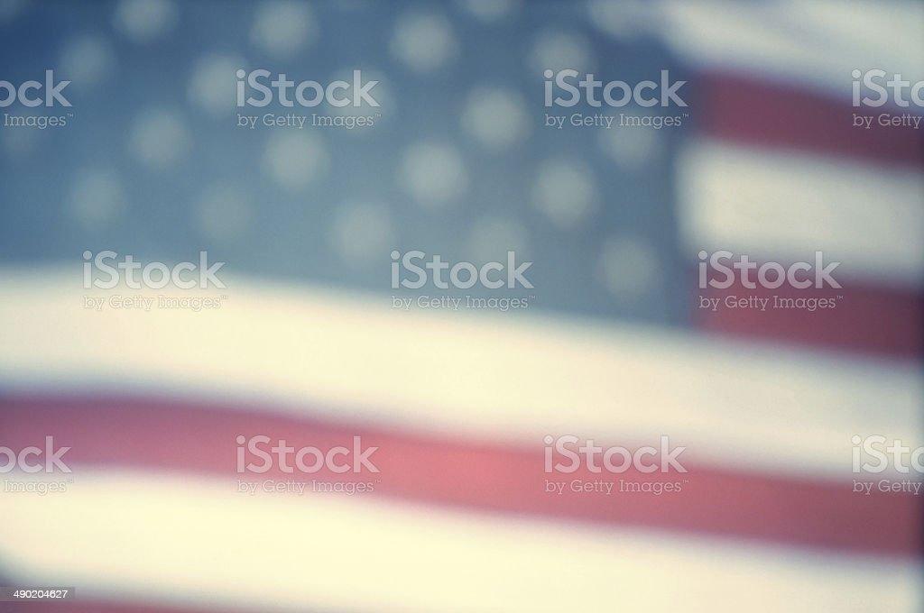 Video still of American flag