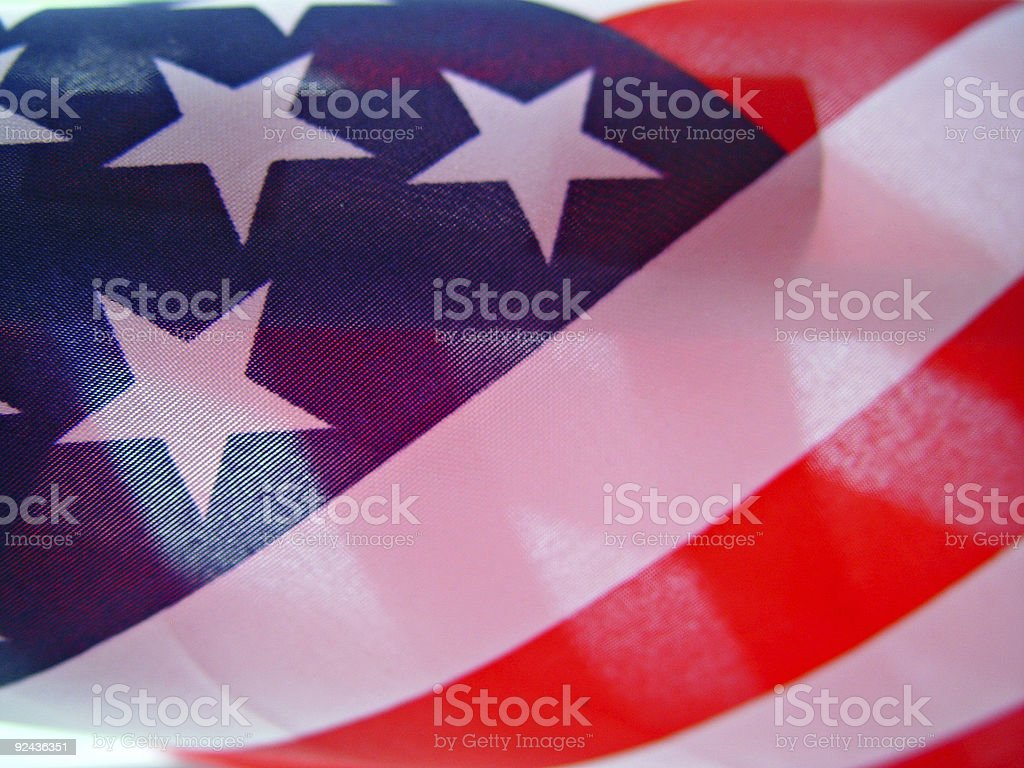 American Flag - Wallpaper stock photo