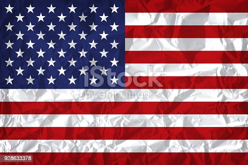 istock American flag with vintage look on paper background 928633378