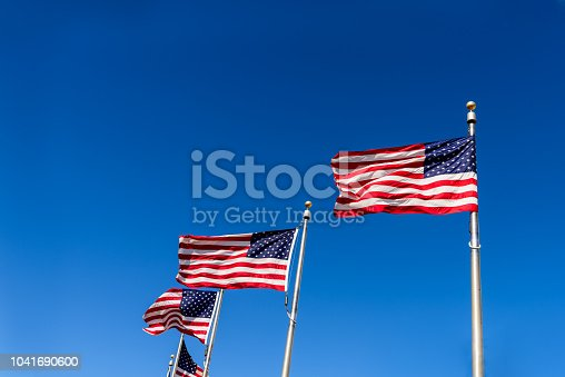 istock American Flags 1041690600