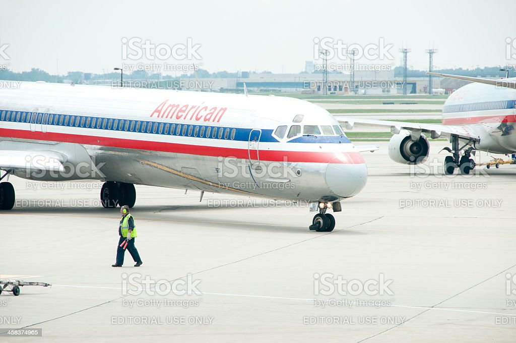 American Flight royalty-free stock photo