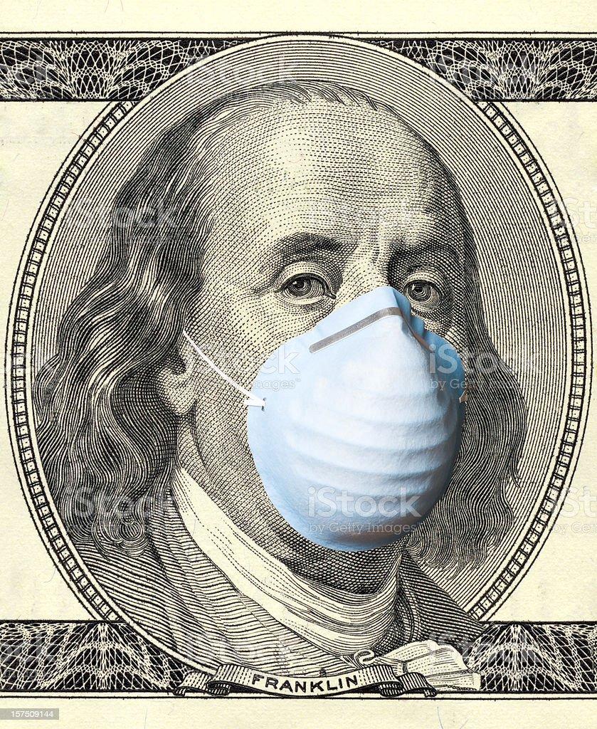 American flu pandemic royalty-free stock photo