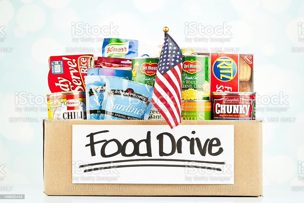 American Food Drive Collection stock photo
