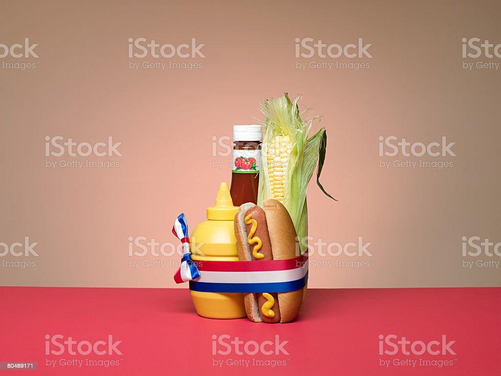 Alimentos-americano foto de stock royalty-free