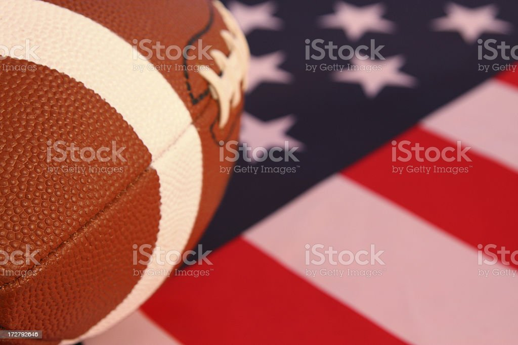 American Football 2 royalty-free stock photo