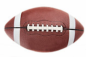 istock American football ball on white background 172201273