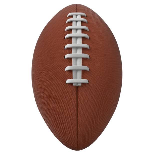 American football ball - foto stock