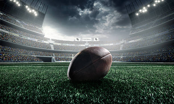 American football ball – Foto
