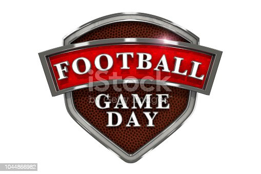 istock American Football Game Day Graphic Emblem 1044866982