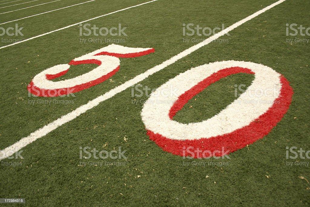 Fútbol americano foto de stock libre de derechos
