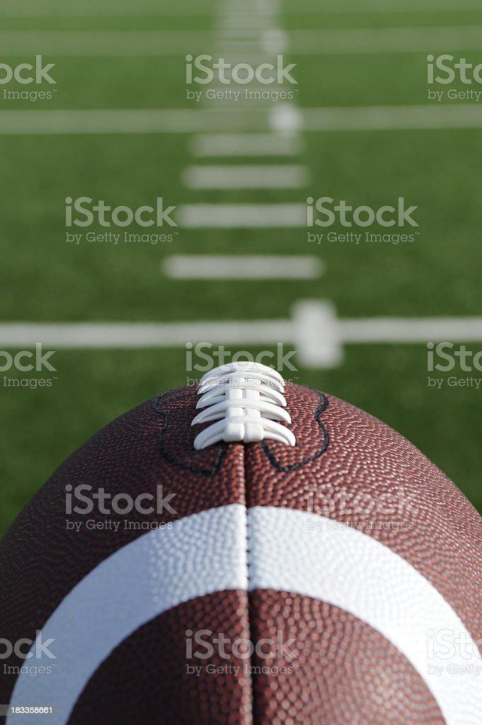 American football royalty-free stock photo