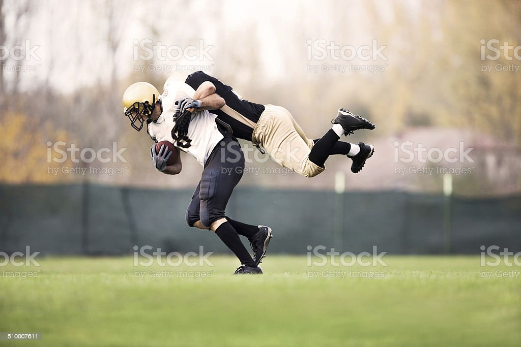American football. stock photo
