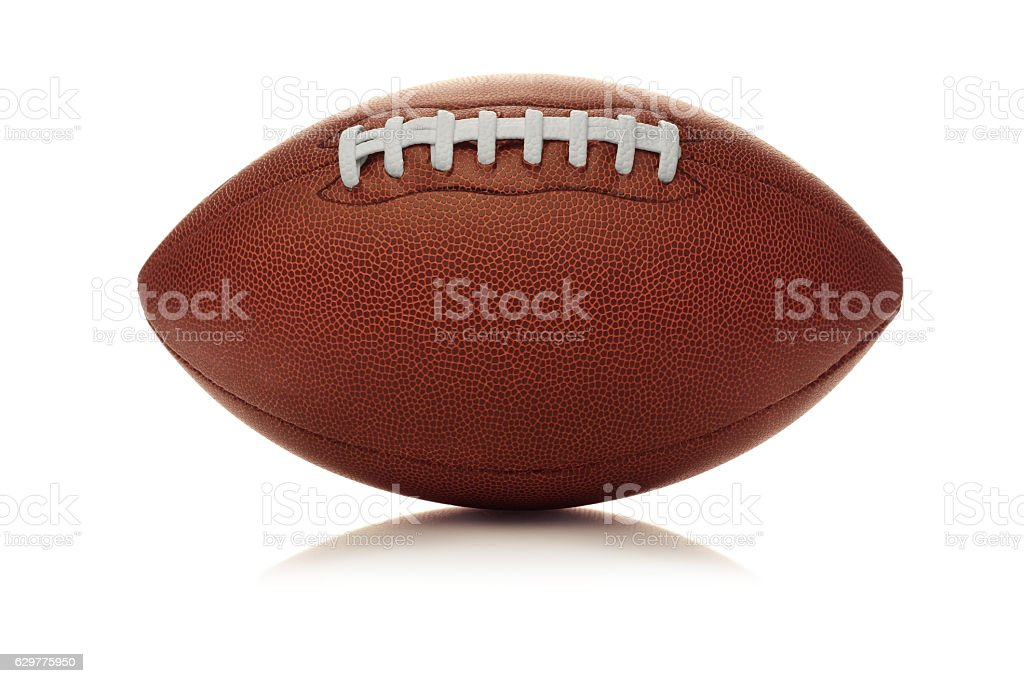 American Football (Clip Path) stock photo