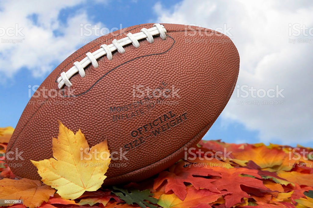 American Football royalty-free stock photo