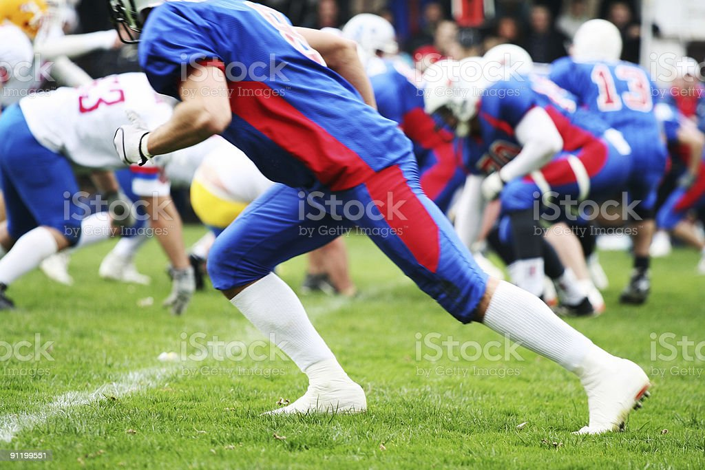 American football-Spieler-Konzept – Foto