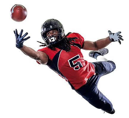 istock american football player man isolated 657516944