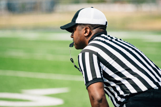 American Football Referee American Football Referee referee stock pictures, royalty-free photos & images