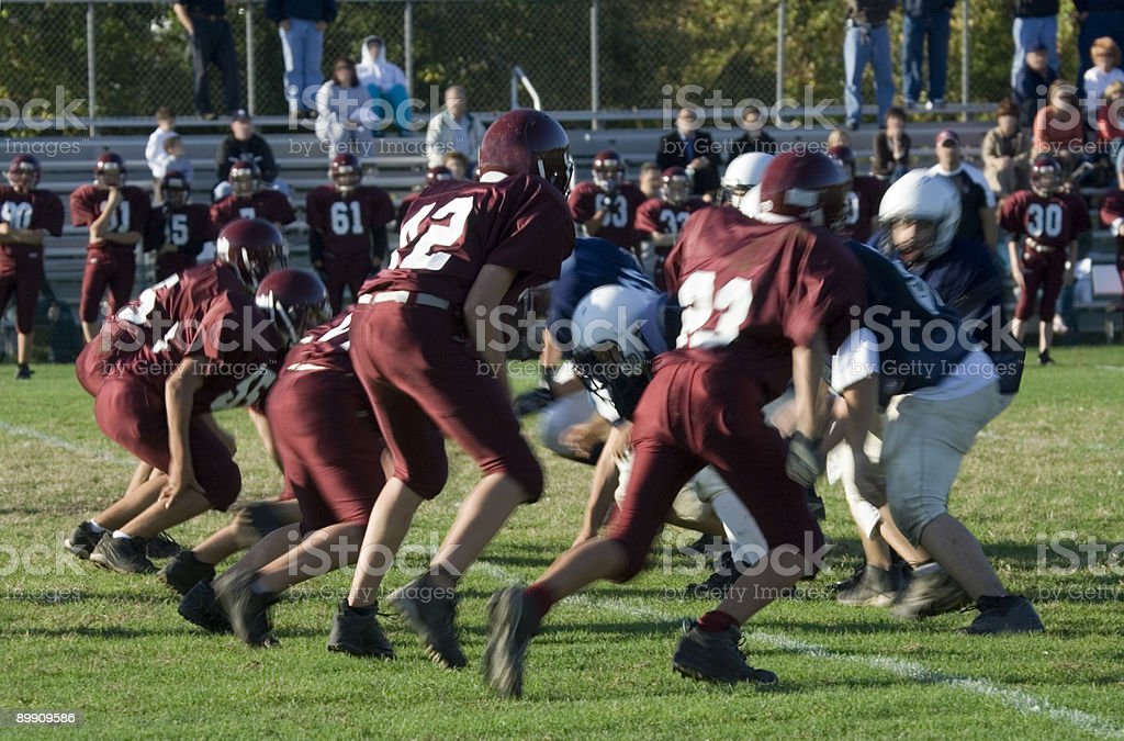 American Football Series stock photo