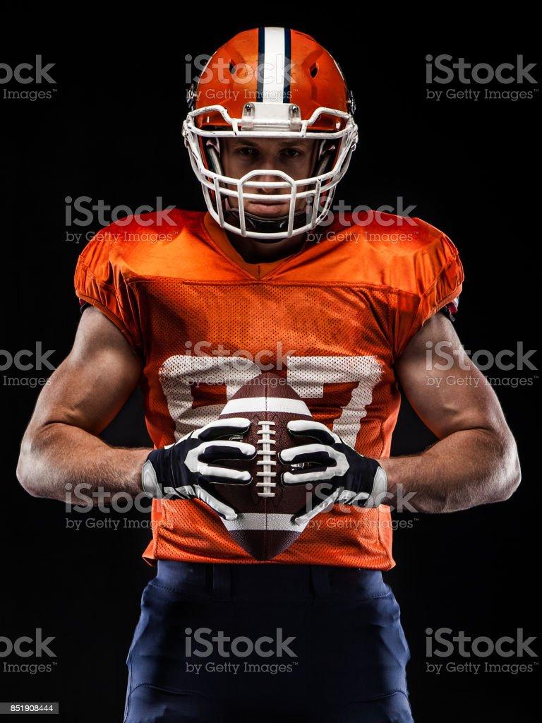 US-amerikanischer Footballspieler Sportler – Foto