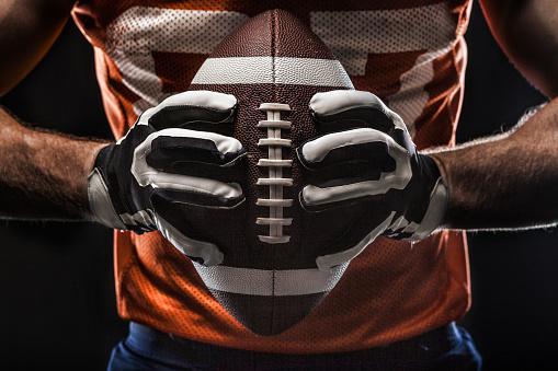 istock American football sportsman player 866947590