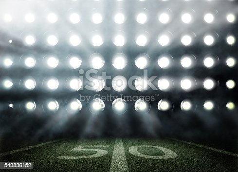 istock American football stadium in lights and flashes in 3d 543836152