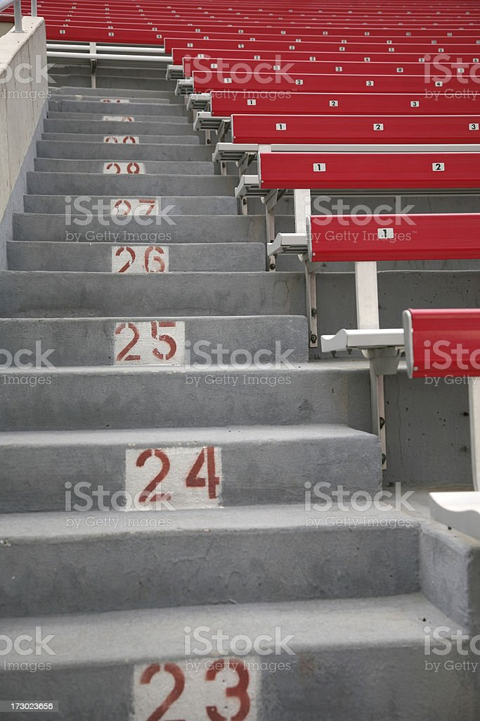 American Football Stadium royalty-free stock photo