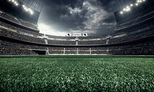 Best Football Field Stock Photos Pictures Amp Royalty Free