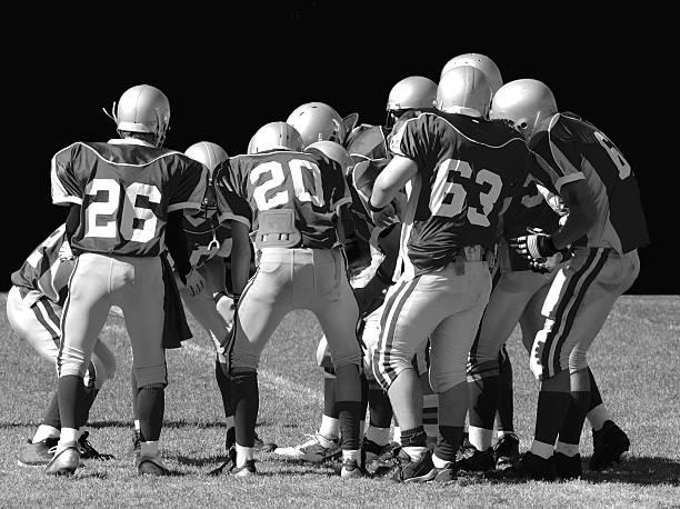 American Football-team – Foto