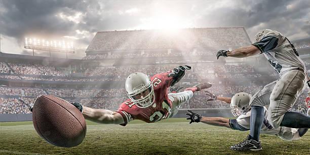 American Football Touchdown – Foto
