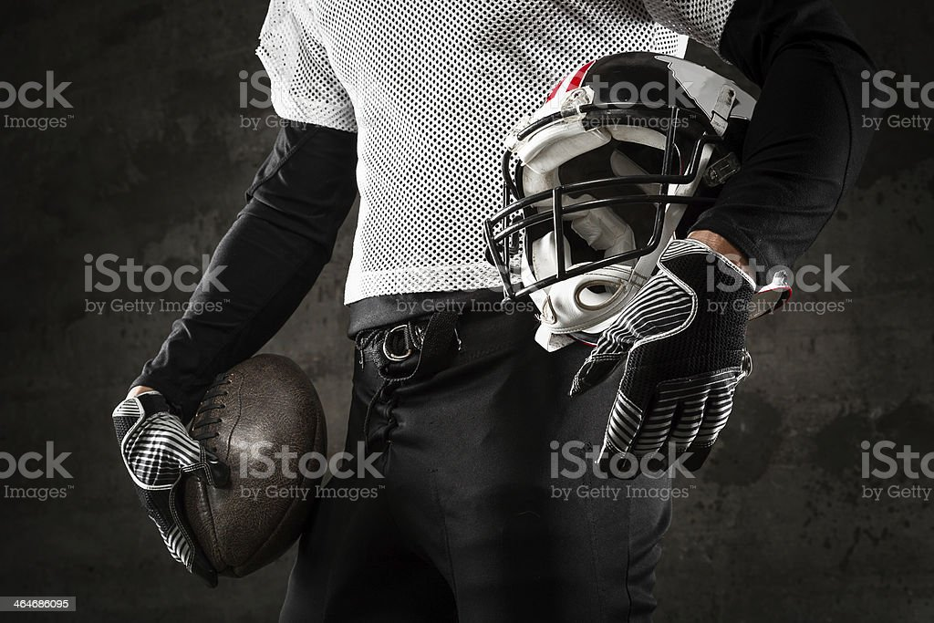 american football uniform stock photo