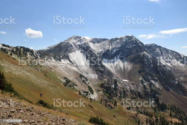 Photo of American Fork Twin Peaks in the Wasatch Mountains