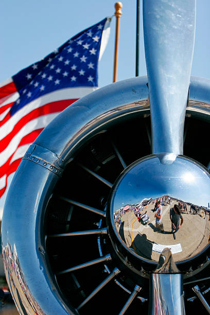 american freedom - airshow stock photos and pictures