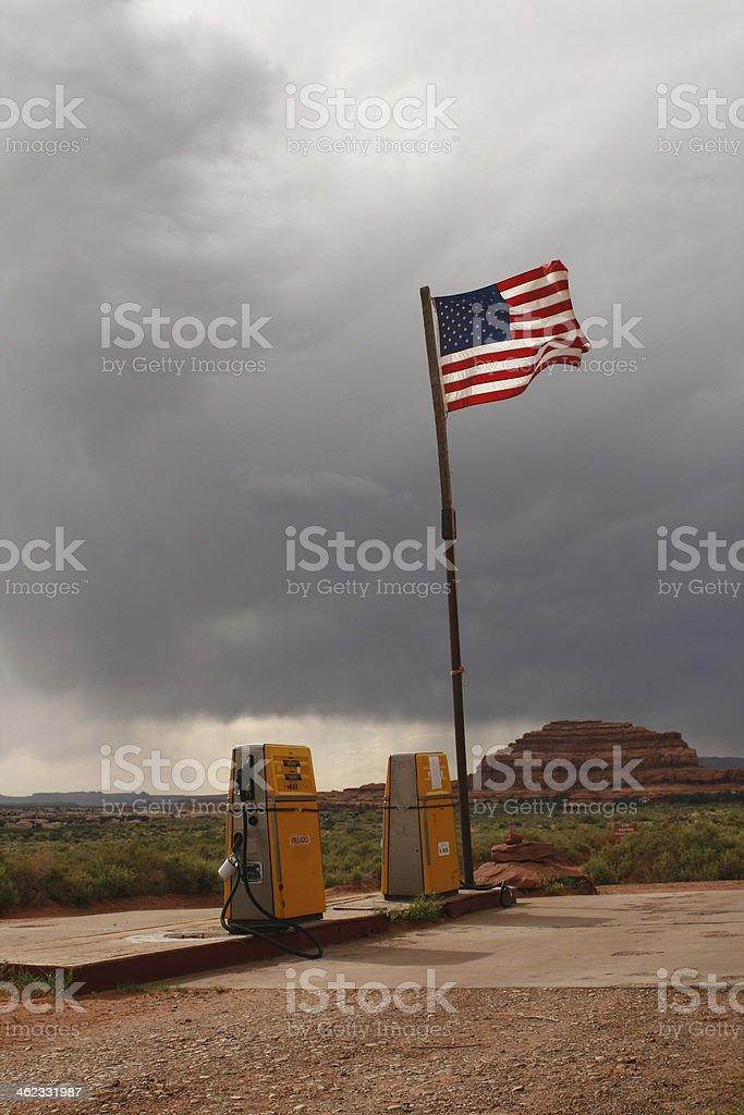 American Gass stock photo