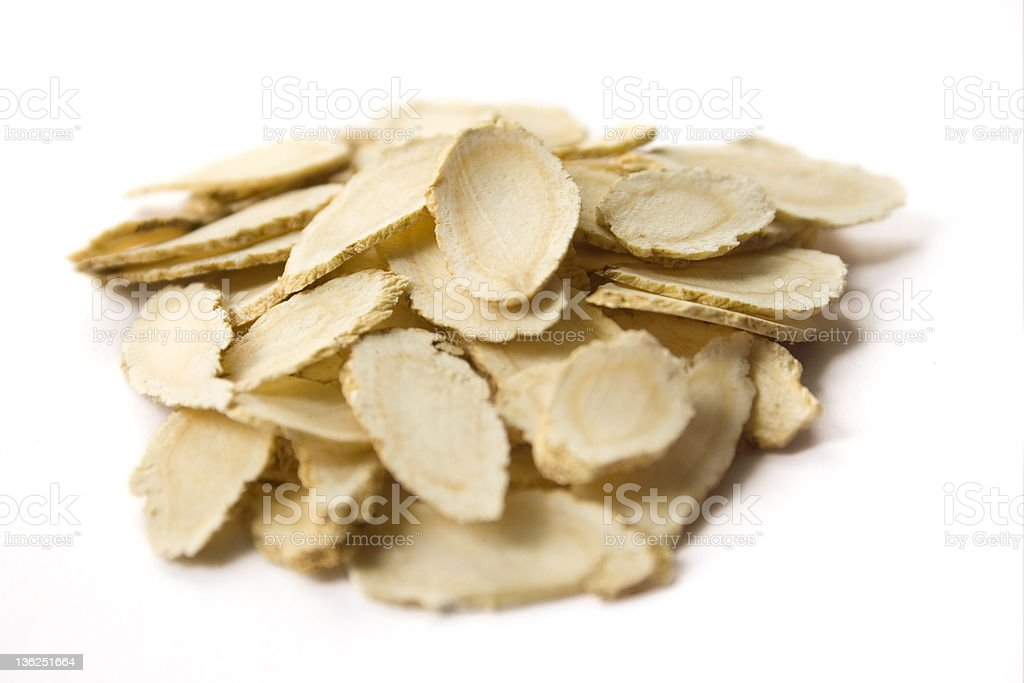 American Ginseng Root stock photo