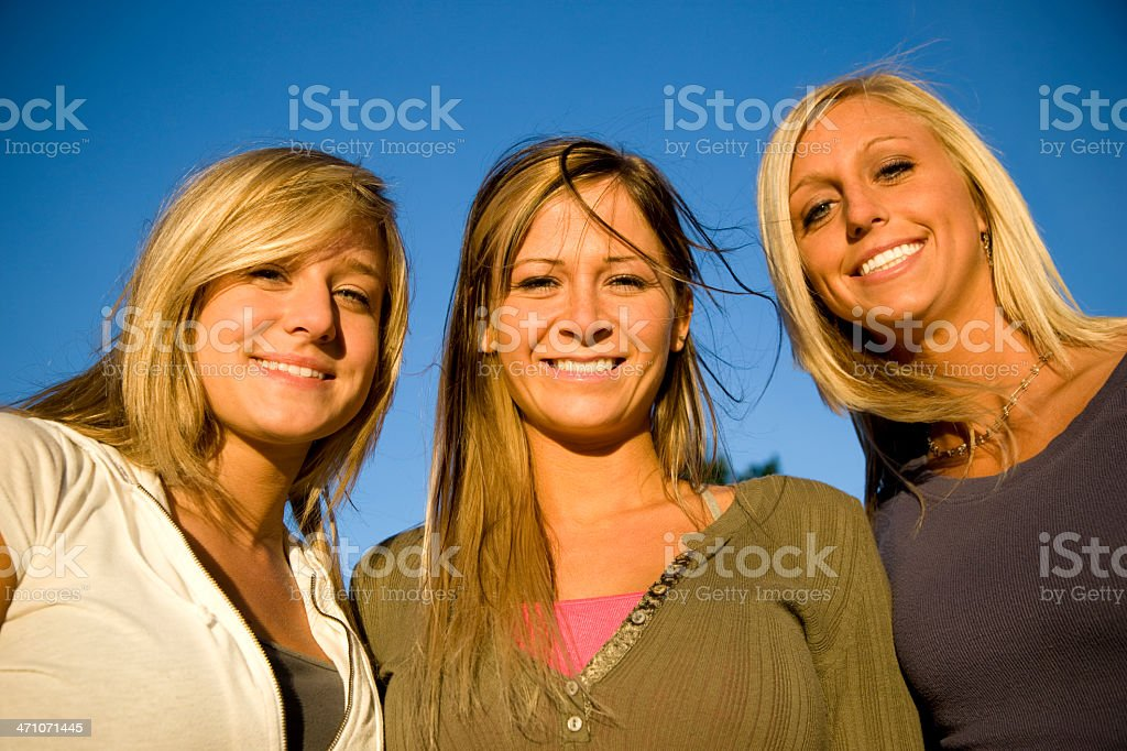 American Girls royalty-free stock photo